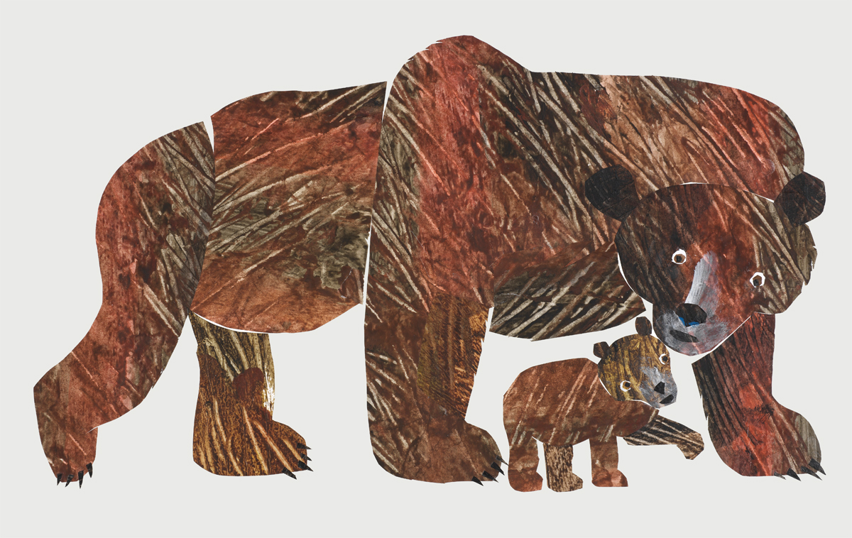 Cover illustration for Baby Bear, Baby Bear, What Do You See?