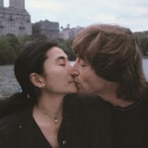 John Lennon and Yoko Ono 1980