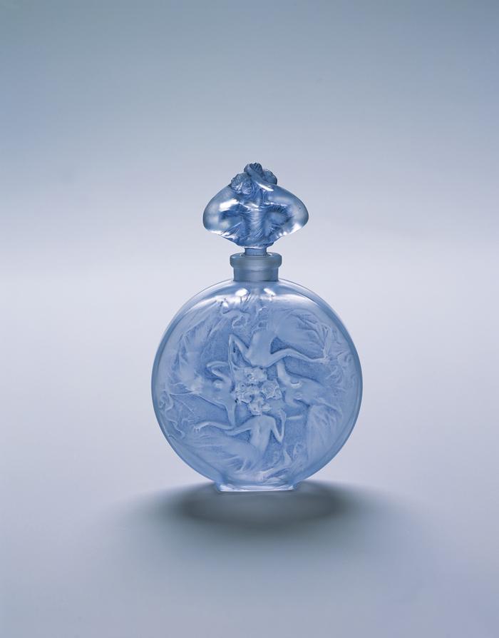 Rene Lalique Perfume bottle / Rose-shaped figures 1912