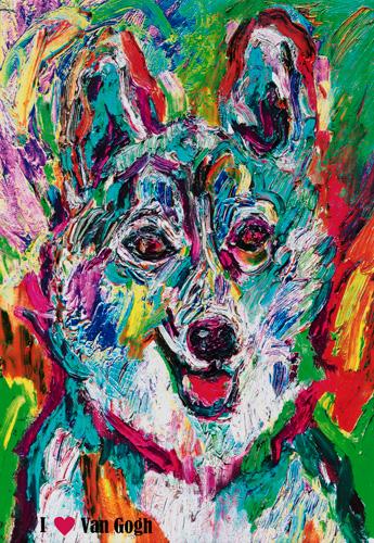 吉田康則 《I LOVE Van Gogh》 2016年 作者蔵