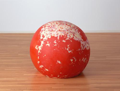 菅沼綠《楕円('10-2)》2010年