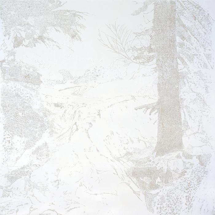長谷川誠  《遠いゆきどけ-06》  2003年
