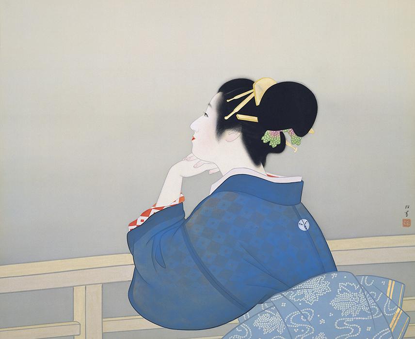 上村松園 《待月》 1944年 足立美術館蔵